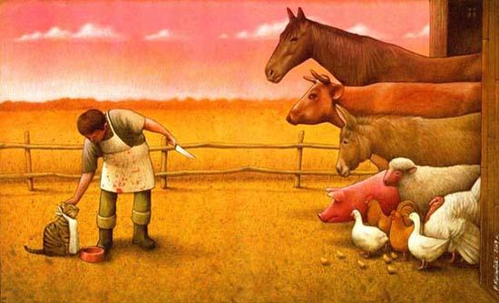 Σατυρικά illustrations που θα σας βάλουν σε σκέψεις (14)