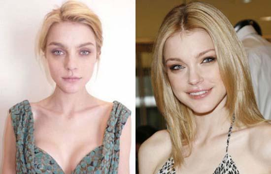 Supermodels χωρίς make-up (1)