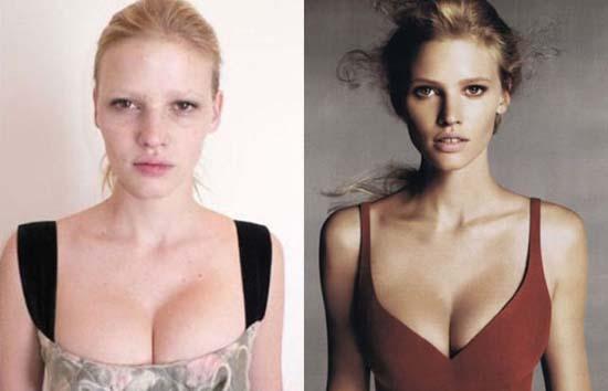 Supermodels χωρίς make-up (7)