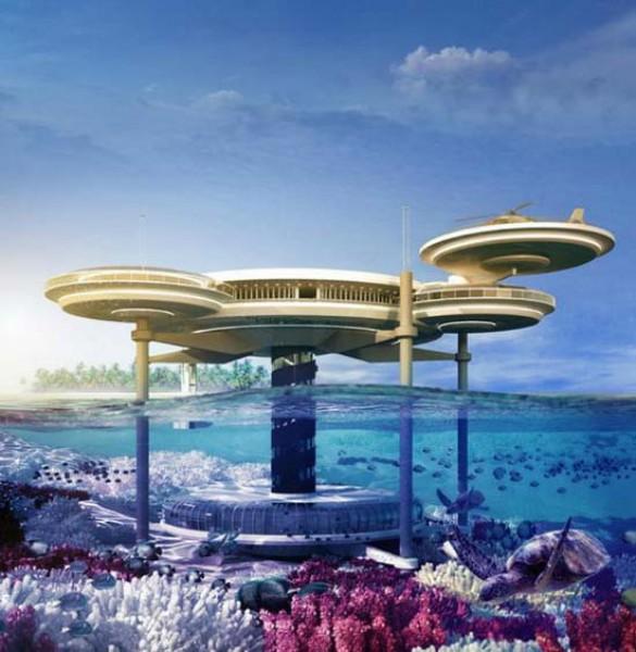 Υποβρύχιο φουτουριστικό ξενοδοχείο στο Dubai (1)