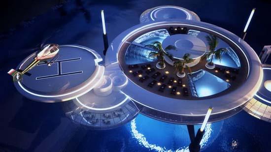 Υποβρύχιο φουτουριστικό ξενοδοχείο στο Dubai (2)