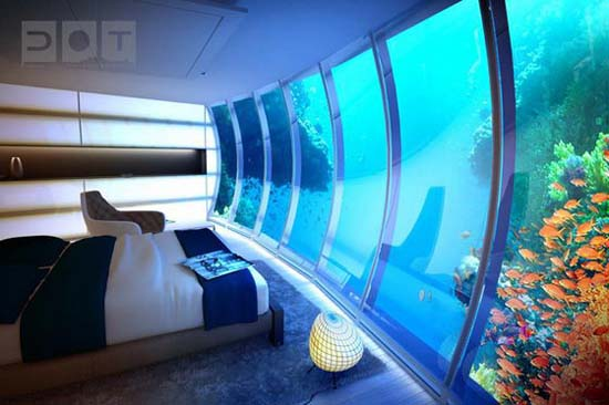 Υποβρύχιο φουτουριστικό ξενοδοχείο στο Dubai (7)
