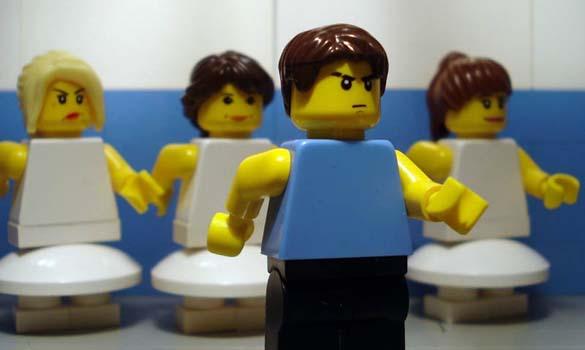 Αναπαράσταση διάσημων ταινιών με Lego (3)