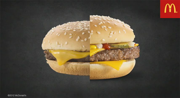 Γιατί τα Burgers φαίνονται τόσο διαφορετικά στις διαφημίσεις;