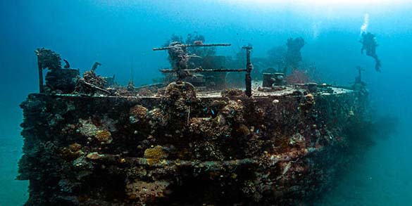 Chuuk Lagoon: Το μεγαλύτερο νεκροταφείο πλοίων στον κόσμο (8)