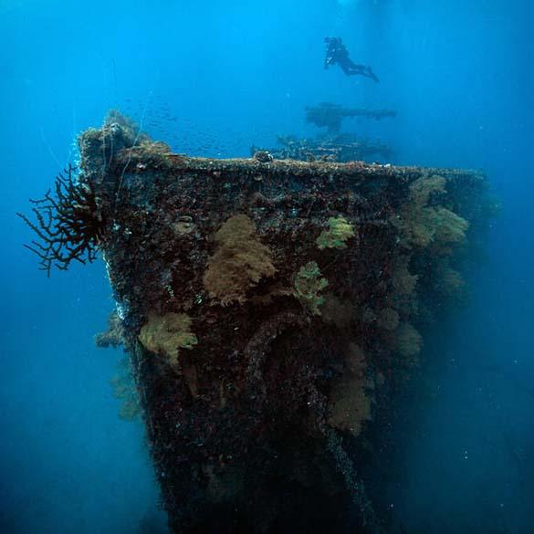 Chuuk Lagoon: Το μεγαλύτερο νεκροταφείο πλοίων στον κόσμο (11)