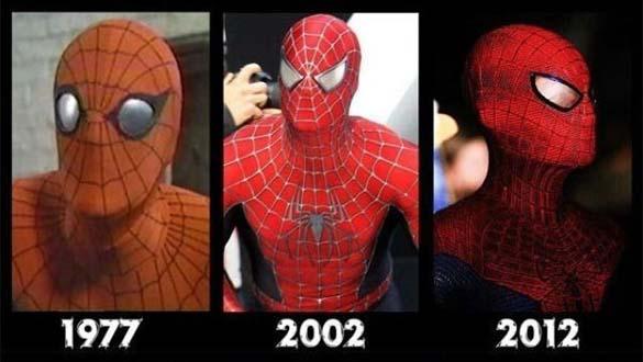 Διάσημοι χαρακτήρες ταινιών τότε και τώρα (1)