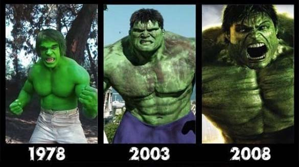 Διάσημοι χαρακτήρες ταινιών τότε και τώρα (2)