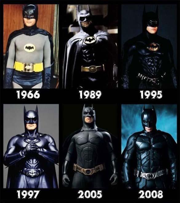 Διάσημοι χαρακτήρες ταινιών τότε και τώρα (3)