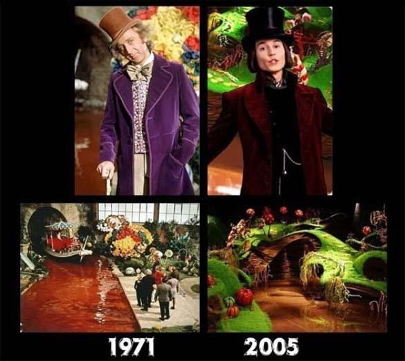 Διάσημοι χαρακτήρες ταινιών τότε και τώρα (4)