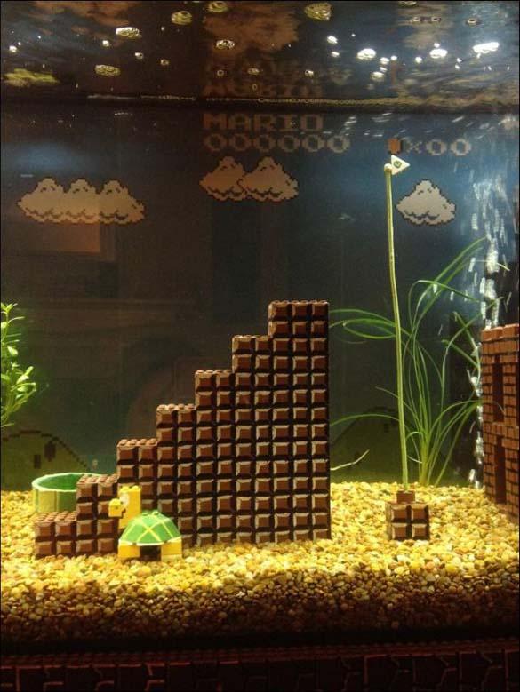 Ενυδρείο Super Mario (3)
