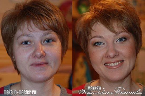 Γυναίκες με / χωρίς μακιγιάζ (9)