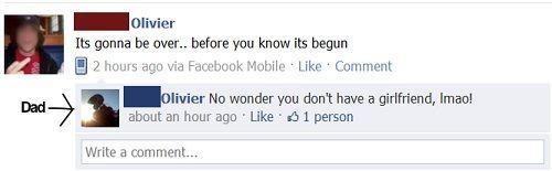 Όταν οι γονείς σε έχουν φίλο στο Facebook... (3)