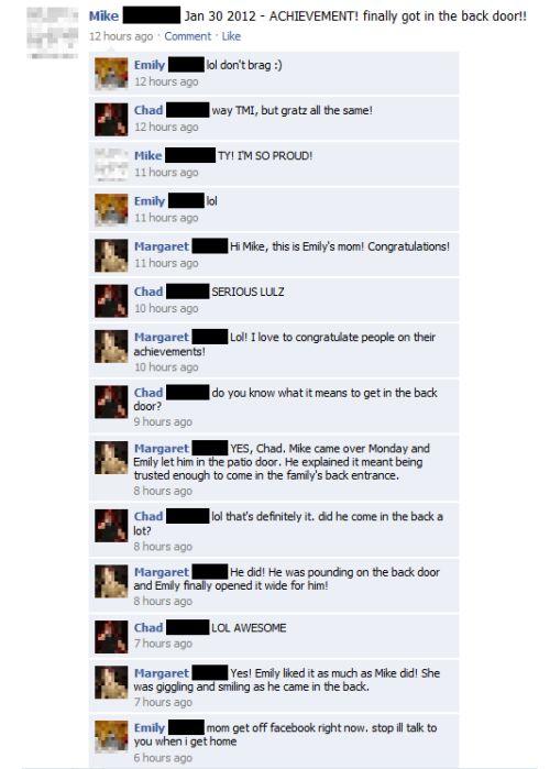 Όταν οι γονείς σε έχουν φίλο στο Facebook... (12)
