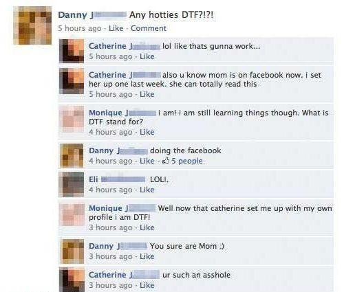 Όταν οι γονείς σε έχουν φίλο στο Facebook... (14)