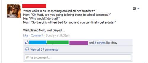 Όταν οι γονείς σε έχουν φίλο στο Facebook... (15)