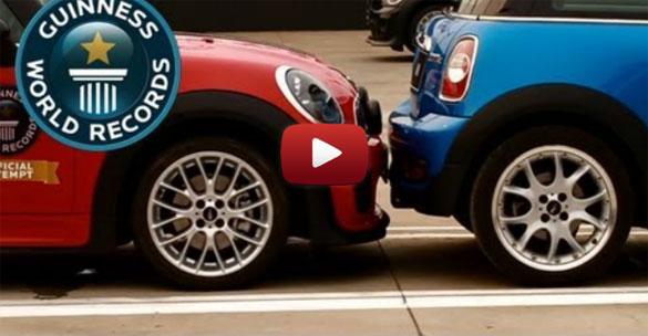 Νέο παγκόσμιο ρεκόρ παρκαρίσματος σε στενό χώρο