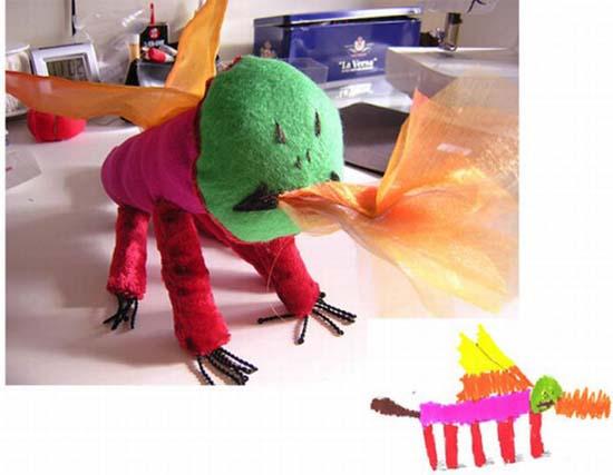 Αν οι παιδικές ζωγραφιές μετατρέπονταν σε παιχνίδια (6)
