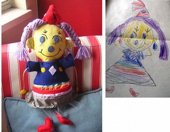 Αν οι παιδικές ζωγραφιές μετατρέπονταν σε παιχνίδια (16)