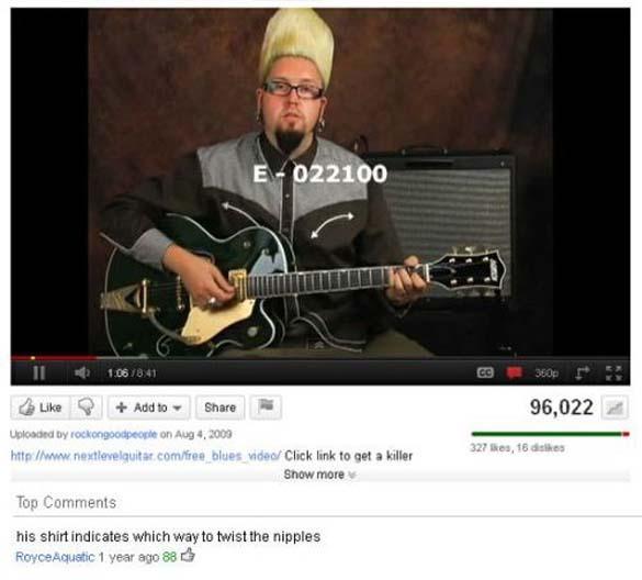 Παράξενα & ξεκαρδιστικά σχόλια στο YouTube (15)