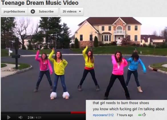 Παράξενα & ξεκαρδιστικά σχόλια στο YouTube (19)