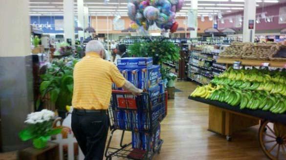 Παράξενες στιγμές στο Supermarket (1)