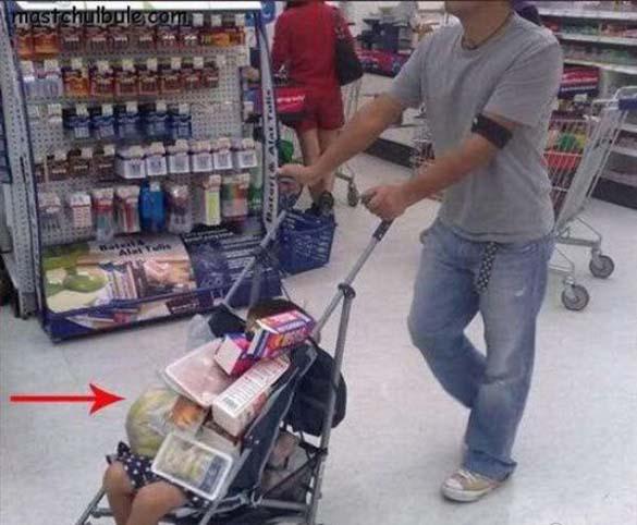 Παράξενες στιγμές στο Supermarket (13)
