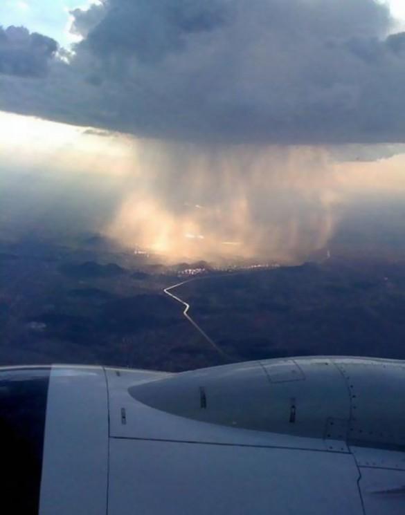 Η βροχή όπως φαίνεται από ψηλά | Φωτογραφία της ημέρας