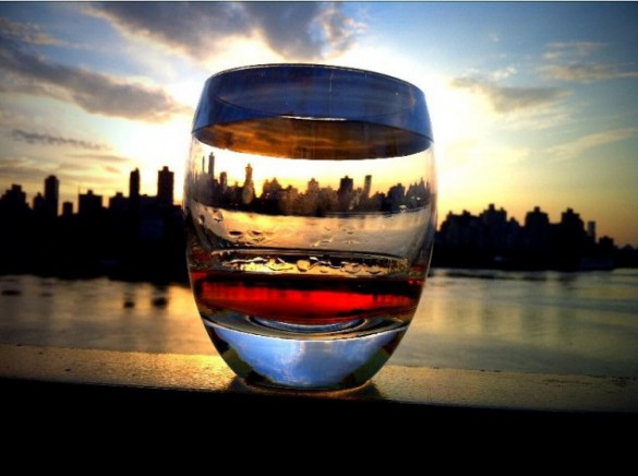 Ηλιοβασίλεμα... να το πιείς στο ποτήρι   Φωτογραφία της ημέρας