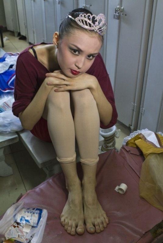 Τα πόδια μιας μπαλαρίνας (1)