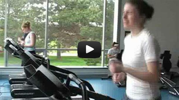 Ποδήλατο διάδρομος γυμναστικής