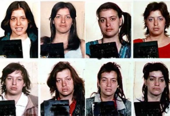 Άνθρωποι πριν και μετά την χρήση ναρκωτικών