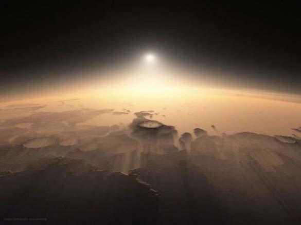 Ένα πρωινό στον πλανήτη Άρη (1)