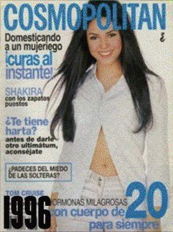 Shakira: 1977-2012 μέσα από φωτογραφίες (11)