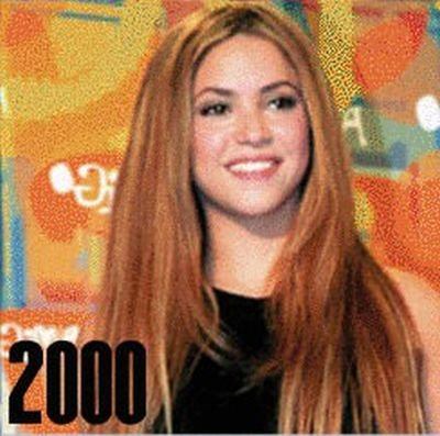 Shakira: 1977-2012 μέσα από φωτογραφίες (15)