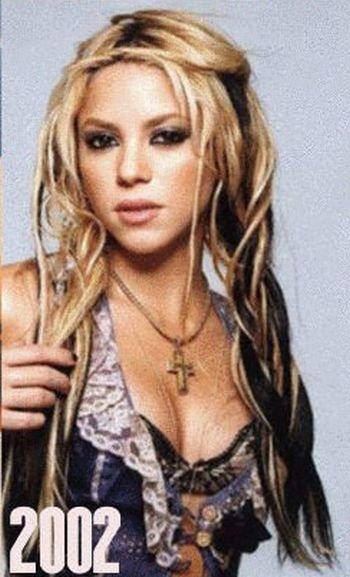 Shakira: 1977-2012 μέσα από φωτογραφίες (17)