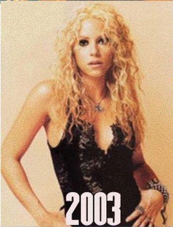 Shakira: 1977-2012 μέσα από φωτογραφίες (18)