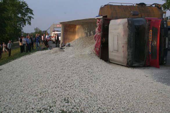 Σοκαριστικό τροχαίο ατύχημα χωρίς θύματα (1)