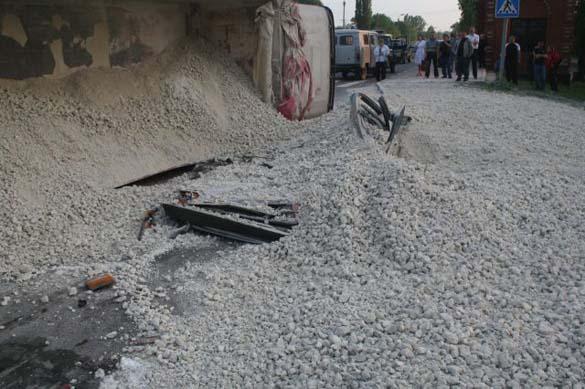 Σοκαριστικό τροχαίο ατύχημα χωρίς θύματα (4)
