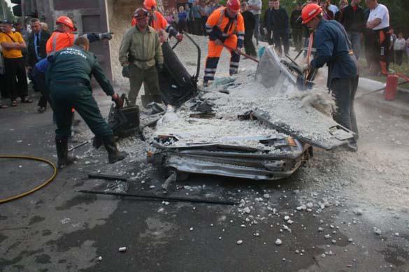Σοκαριστικό τροχαίο ατύχημα χωρίς θύματα (5)