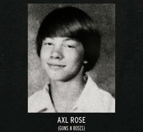 Σχολικές φωτογραφίες διάσημων Rockstars (2)