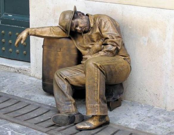 Ζωντανά αγάλματα που θα σας ξεγελάσουν (2)
