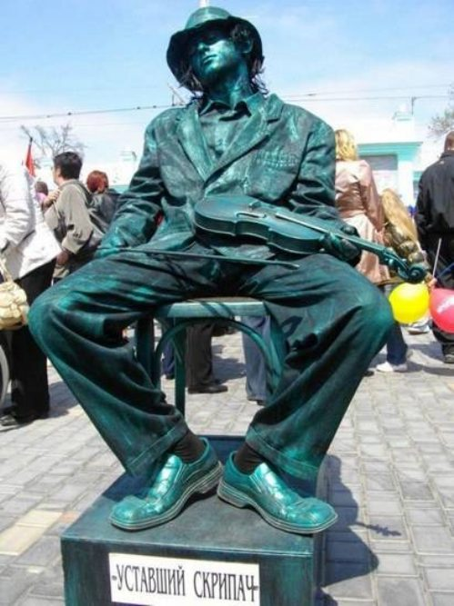 Ζωντανά αγάλματα που θα σας ξεγελάσουν (3)