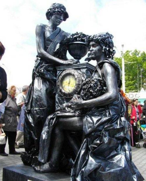 Ζωντανά αγάλματα που θα σας ξεγελάσουν (6)