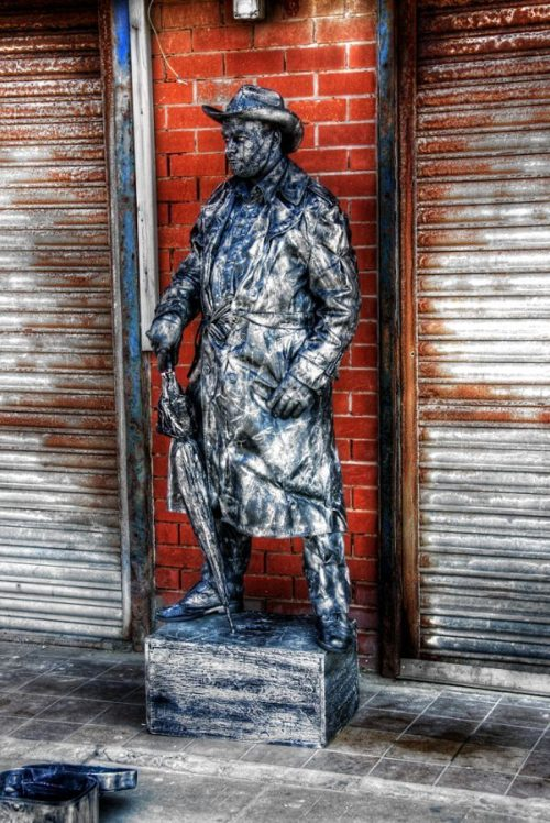 Ζωντανά αγάλματα που θα σας ξεγελάσουν (34)