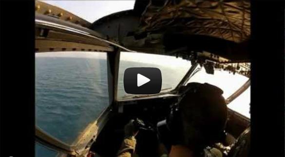 Αεροπυρόσβεση στην Πάτρα όπως καταγράφηκε μέσα από το πιλοτήριο