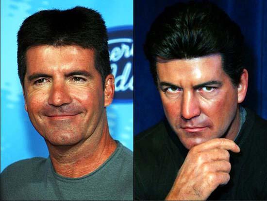 Διάσημοι φωτογραφίζονται με τα κέρινα ομοιώματα τους (4)