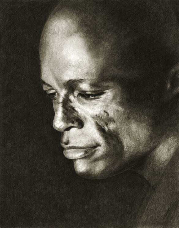 10 εκπληκτικά πορτραίτα διασήμων με μολύβι και κάρβουνο ζωγραφικής (8)