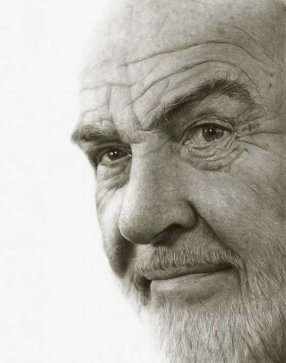 10 εκπληκτικά πορτραίτα διασήμων με μολύβι και κάρβουνο ζωγραφικής (9)