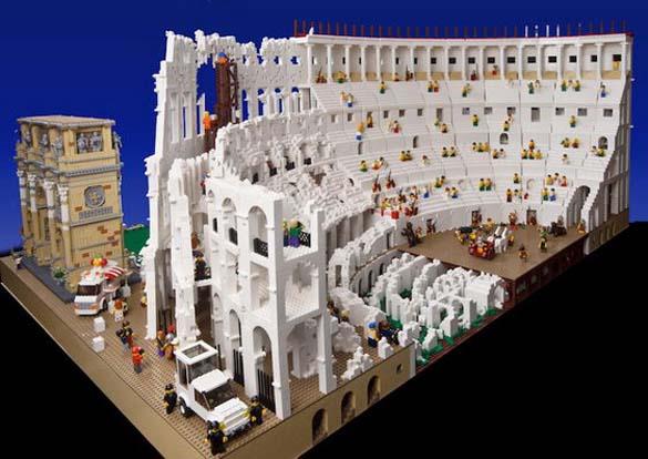 Εκπληκτική ρέπλικα του Κολοσσαίου από Lego (6)